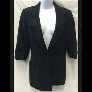 ELIZABETH AND JAMES Wool Lined Single Button